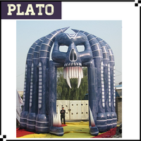 giant halloween inflatable arch for party decoration, inflatable arch with special shape, outdoor halloween inflatables