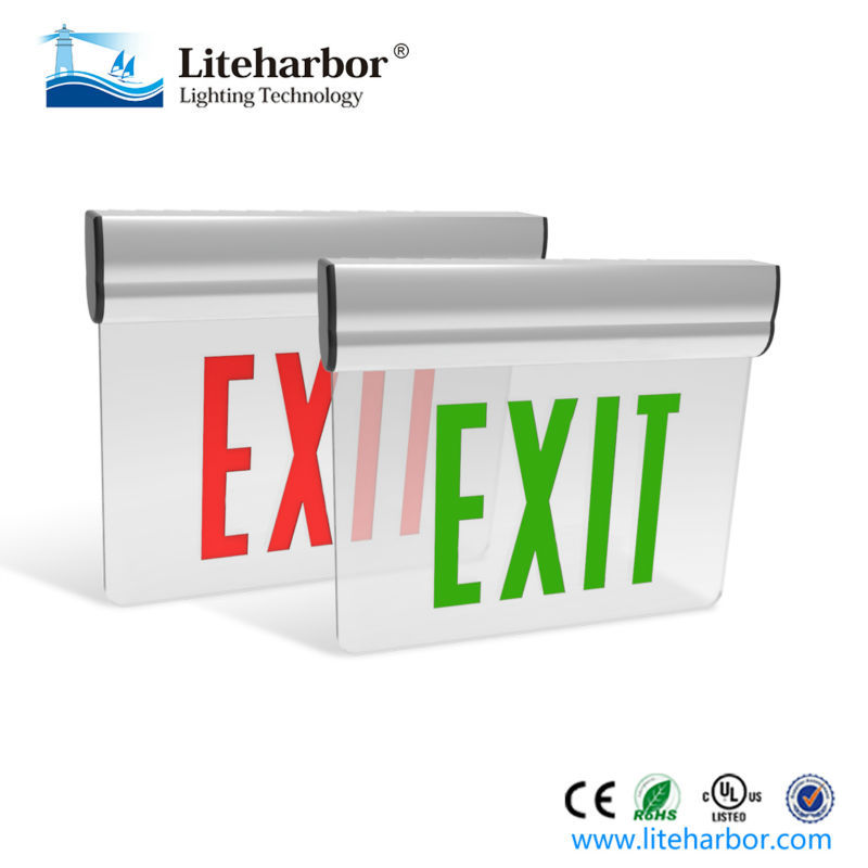 UL Listed 2.5 Watt 3.5V Emergency Escape Outdoor LED Exit Sign Light