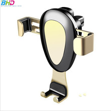 Promotional Gift Gravity Phone Air Vent Mount Clip Car Phone Holder GPS Cell Phone Stand holder