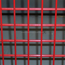 high quality PVC coated electro galvanized welded wire mesh for villaand residential walls