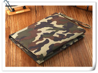The latest portable high power fast folding solar charging treasure Camo large capacity mobile power bank