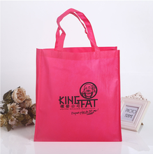 Eco-friendly handled easy carry bag high quality shopping tote bag customized print