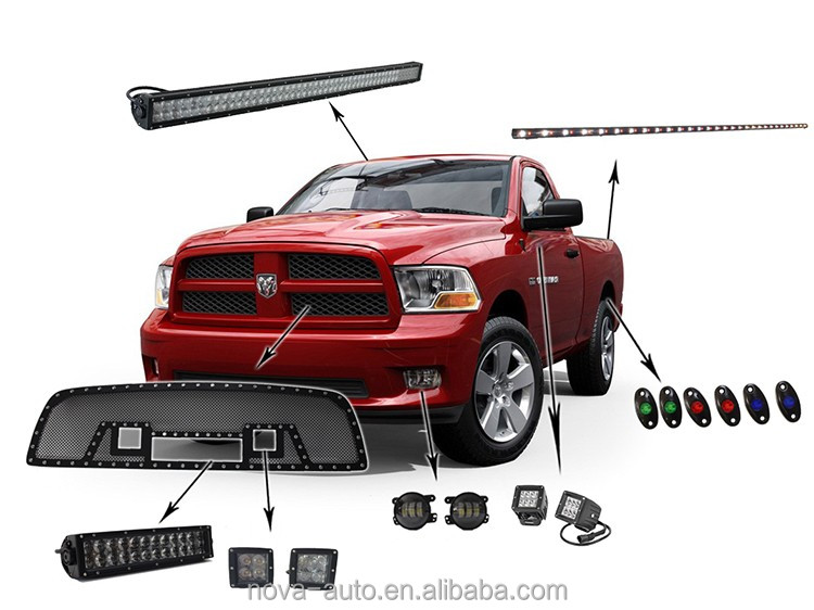 auto parts car accessories dodge ram 1500 mesh grilles. Cars Review. Best American Auto & Cars Review