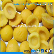good quality pure natural iqf yellow peach