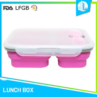 Cheap FDA certificated food storage containers microwave divided