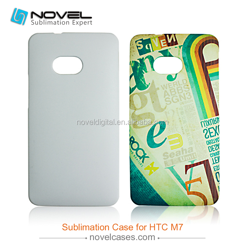 Mobile Phone Case Customize For HTC M7,Sublimation 3D Blank Cover