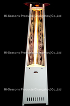 triangle patio decorative gas heater- pyramid with high quality outdoor