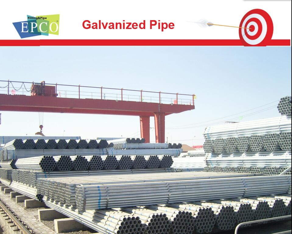 Carbon steel A106 GR B galvanized seamless steel pipe with ASTM DIN JIS Standard