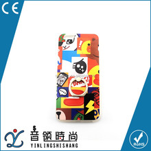 Factory Price Cute Cartoon Metal Ring Stand holder Back Cover Case For iphone, TPU Hard Cell Phone Cases