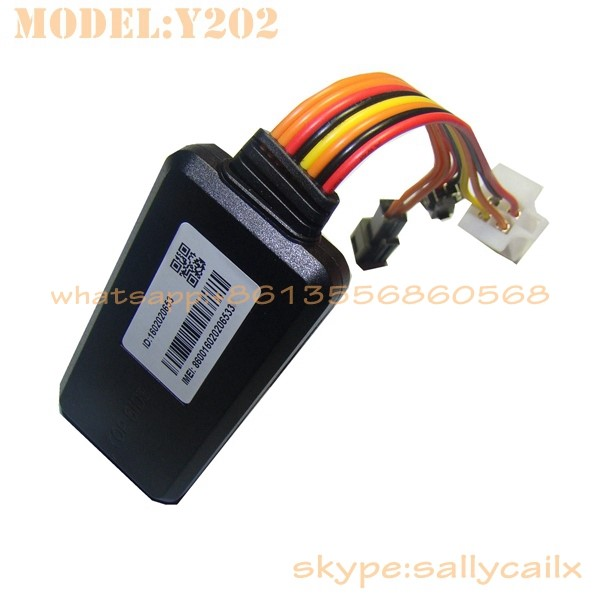 small size gps tracker remotely shutdown vehicle with real time online tracking system Y2