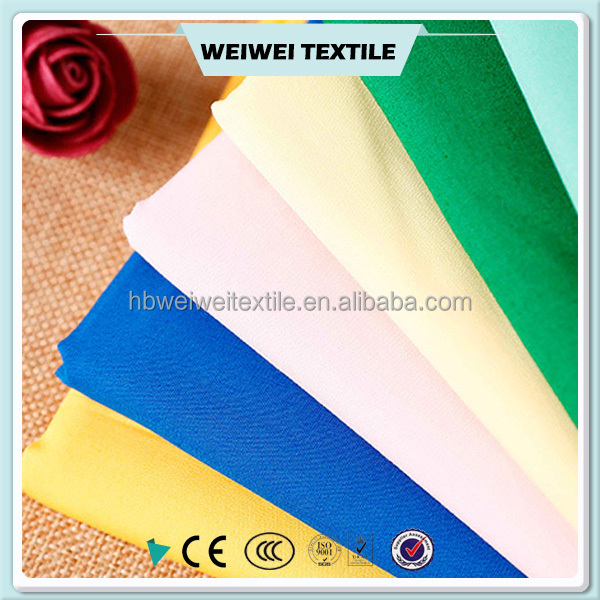 Dyed factory price office uniform designs and pictures for women factory price polyester cotton fabric