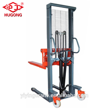 3ton construction manual forklift stacker/ hydraulic lift pallet jack truck