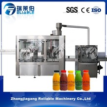 300ML Bottle Small Fruit Juice Making Factory Equipment