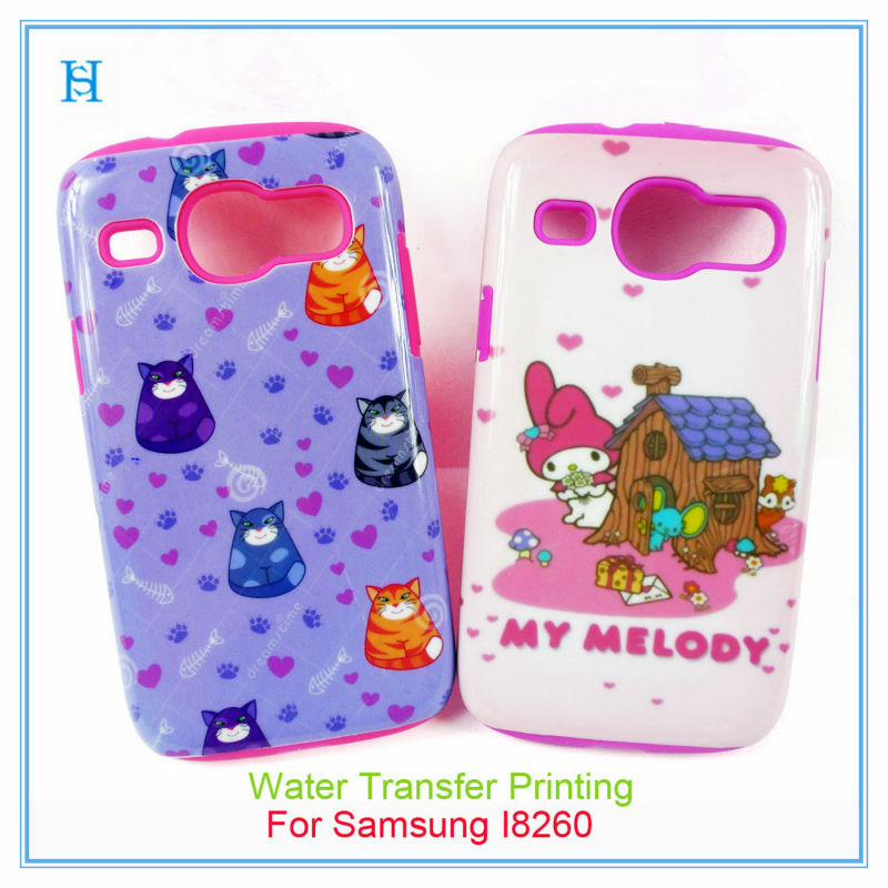 case for samsung galaxy core duos i8260 i8262,rubber case for samsung galaxy core