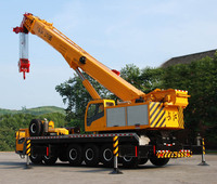 China new 130ton truck crane for sale, customer approved quality 130Ton truck mounted crane, Double engines mobile crane