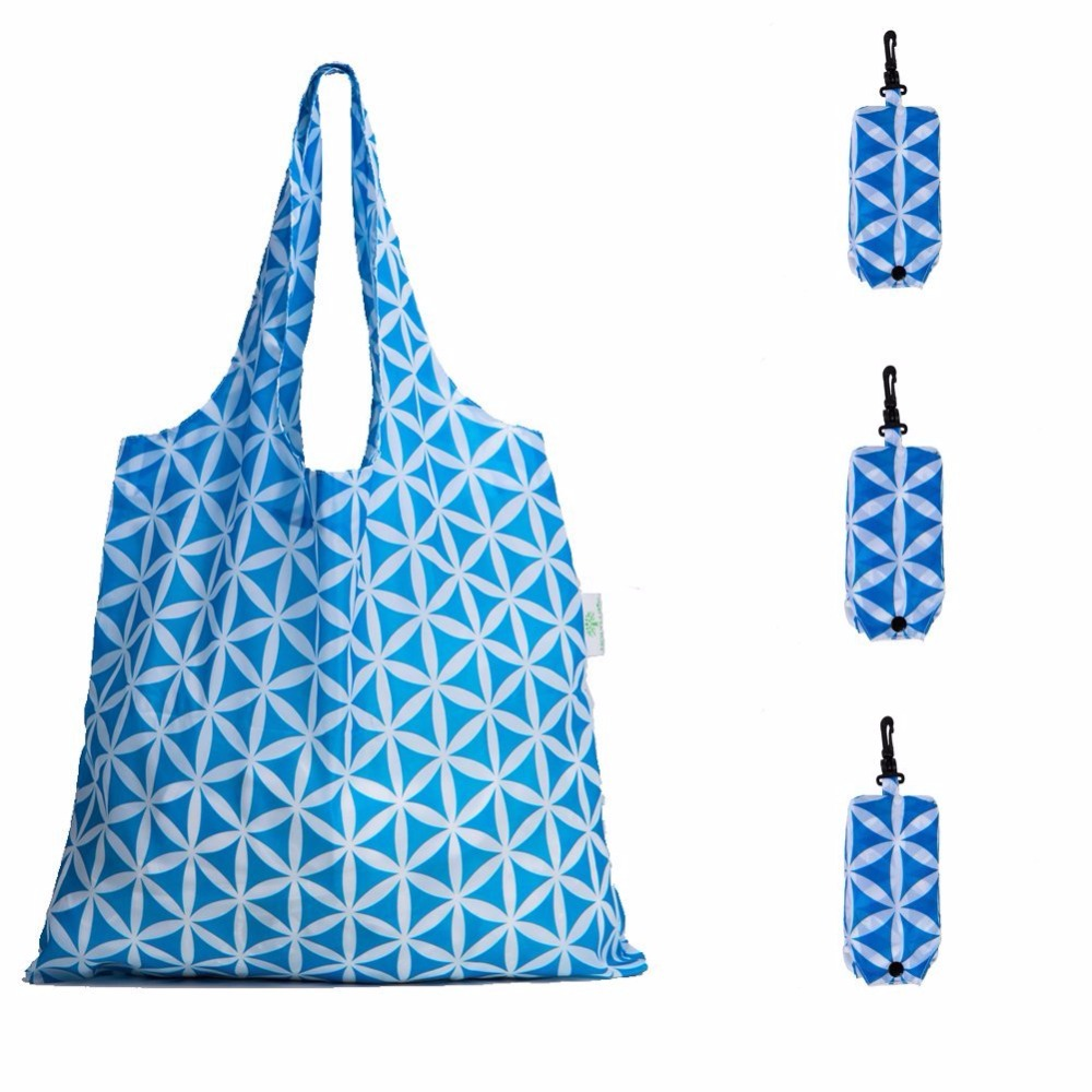 Patterned Foldable Reusable Recycling Shopping <strong>Tote</strong> Bag Travel <strong>Totes</strong> Recycle Grocery Bags