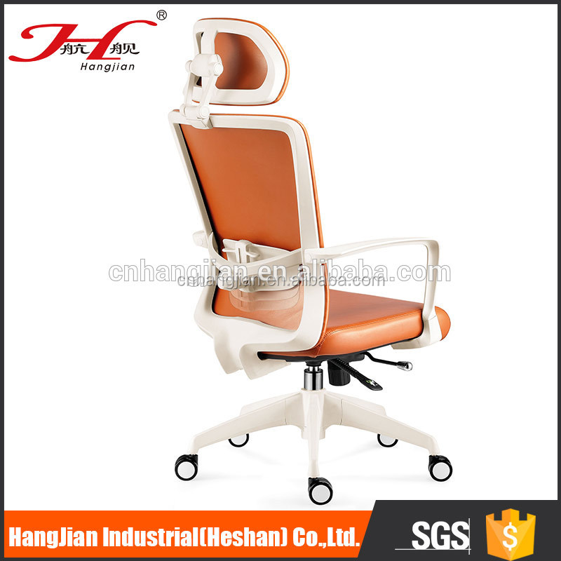 New design visitor chair modern black leather of High Quality