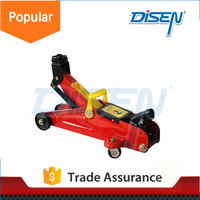 2 ton scissor wind up compact automatic electric car floor jack