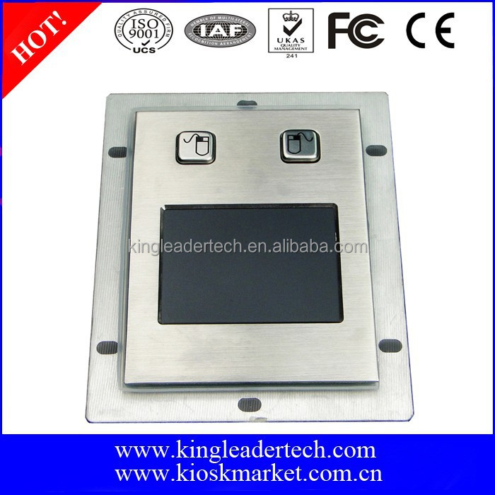 USB interface metal touchpad with 2 buttons
