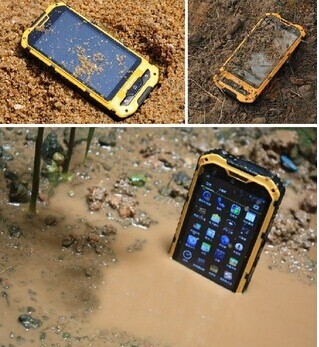 4.0 inch Dual Core MTK6572 rugged phone land rover a8 android 4.2 ip68 waterproof Pass CE phone