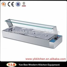 With CE Approved Stainless Steel Food Warmer Electric Bain Marie
