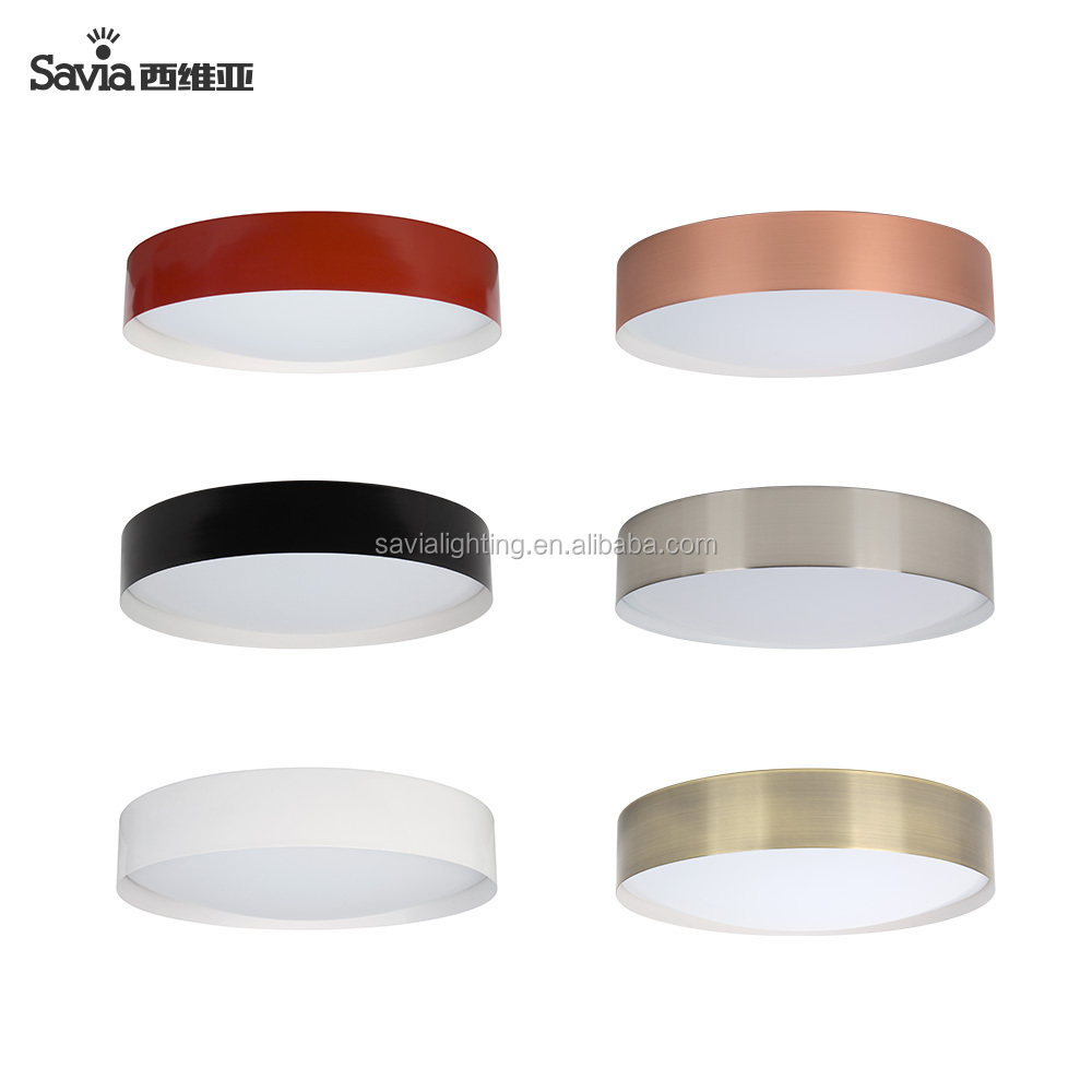 Savia Modern LED ceiling lamp SMD LED 24W 30W 40W Indoor IP44 Waterproof multi color dimmable LED motion sensor ceiling light
