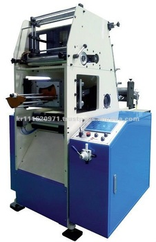 In mold label punching machine