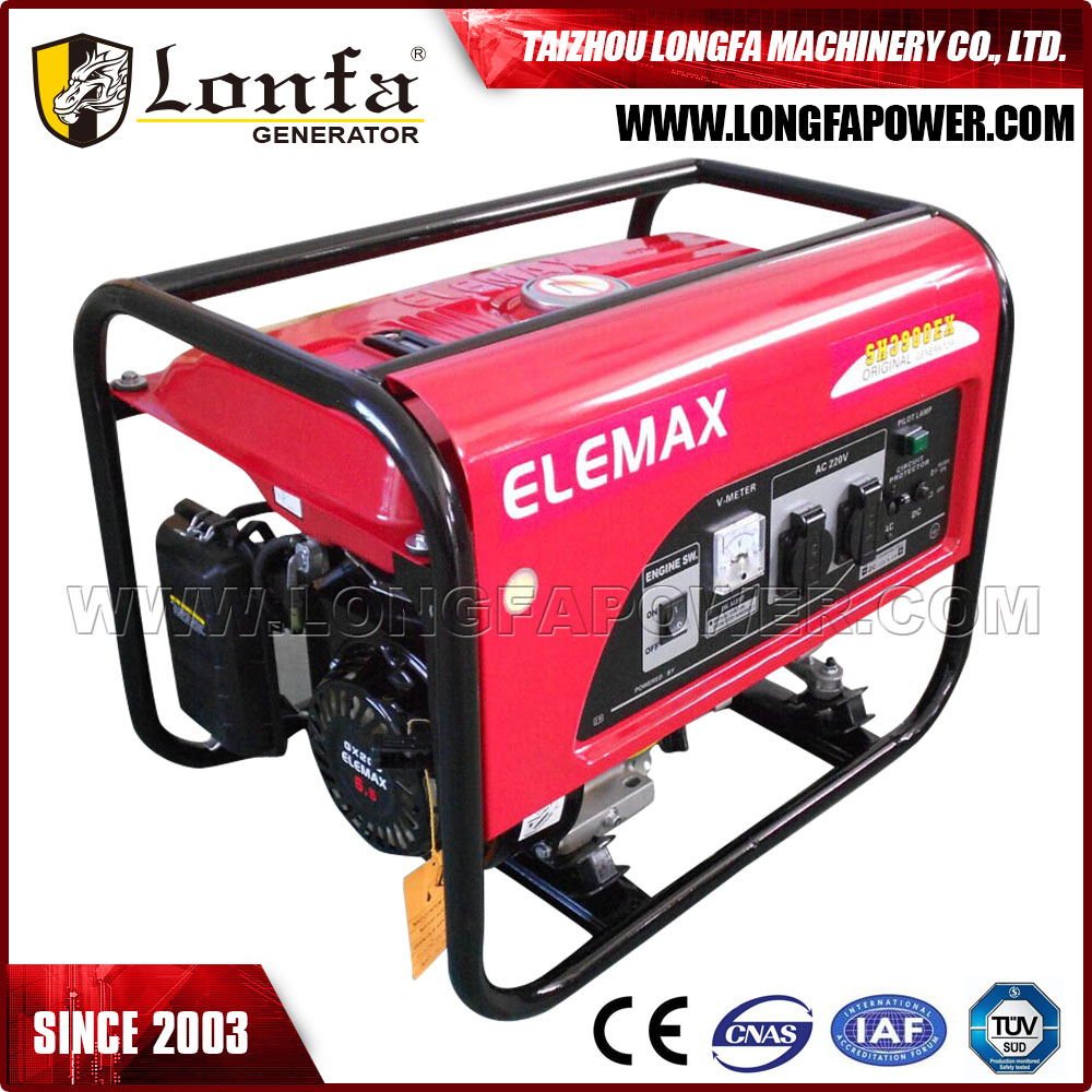SH3200 Electric Start Portable ELEMAX Generator Gasoline for Sale
