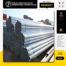 ASME ERW hot dipped galvanized fluid steel pipe China top sale