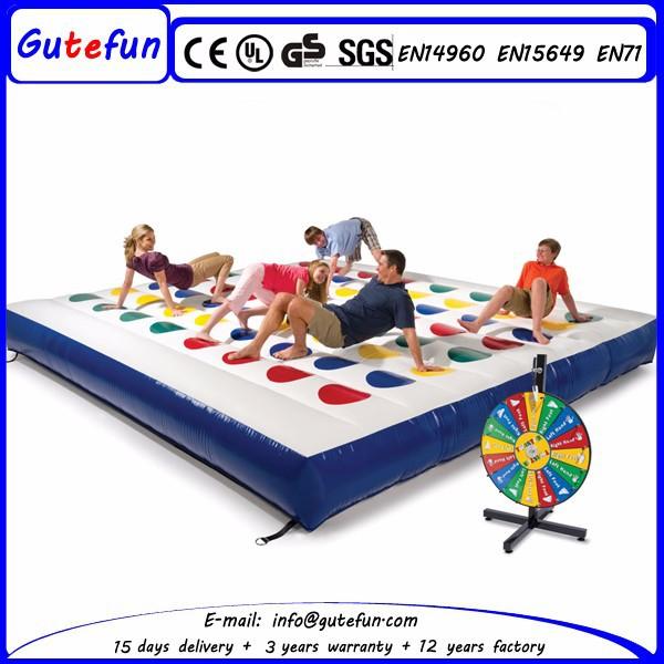 Adultes jeux de sport 3d gonflable twister g ant twister jeux vendre tramp - Jeux gonflables a vendre ...