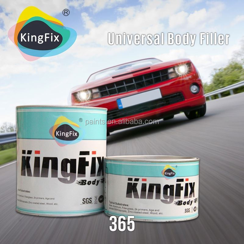 high quality cheap price red hardener water resistant car paint body filler