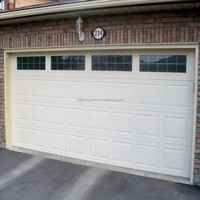 Automatic Waterproof Steel Building Sliding Garage Door