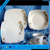 12pcs porcelain flower decal dinner set, porcelain tableware, ceramic chinaware with gift box-024