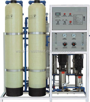 cheap price for deep well water purification 1000L/H mobile reverse osmosis system