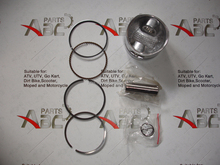lifan 125cc piston ring Pit engine parts110cc 120cc 125cc Dished Thumpstar Loncin Lifan 52.4mm