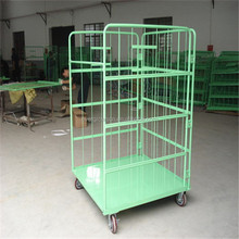 Metal foldable roll off container for sale