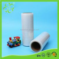 China Suupplier Export Hand Wrapping PE Transparent Color Plastic Film