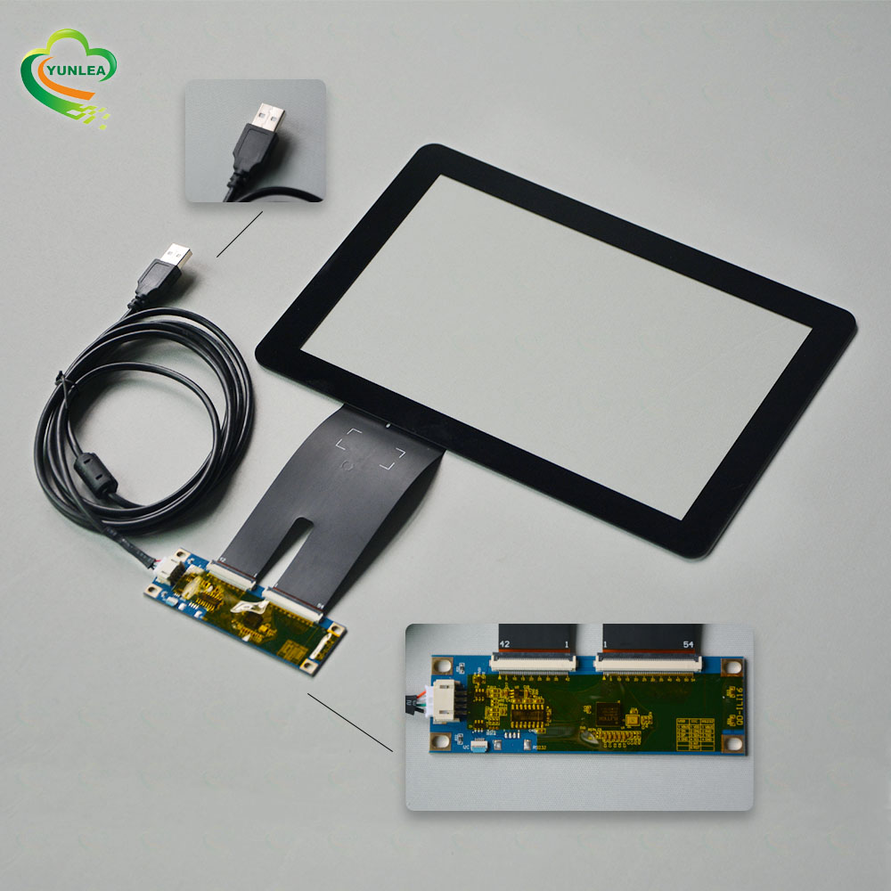 10. 1 ° 10. 4,12. 1 ° 15,15. 6,17,17. 3,18. 5,19,21. 5,23,23. 6,27,32 pollici impermeabile usb touch screen capacitivo