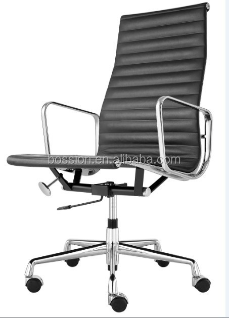 High back EA119 executive aluminium emes office chair with castor