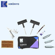 KRONYO car tyre air pump tire changer tire repair materials
