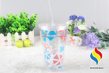 PS Plastic Tumbler With Cover