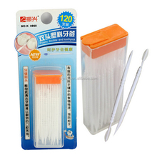 Double Head 120pcs Dental Floss Interdental Toothpick Brush Brush Teeth Stick Hilo Dental Oral Care Toothpicks Floss Pick