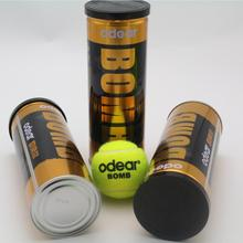 Custom printed ITF approved tournament tennis balls