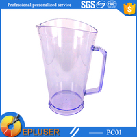 Wholesale 32oz large volume plastic customized colorful pitcher cup in Promotion