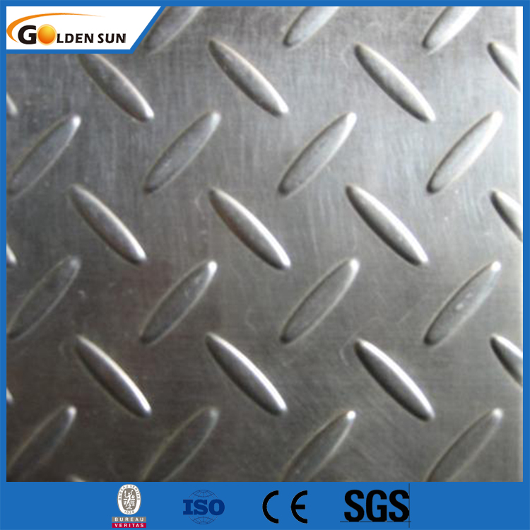 66Grade A36 3mm Thick Carbon checkered Steel Plate With competitive price