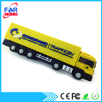 2016 Chinese Manufacturer Top Sale Promotion Gifts Lorry Shaped Novelty OEM Customized USB Disk