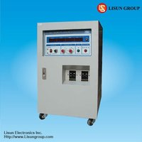 LSP-5KVA 400hz ac power supply with high accuracy and low harmonica function and maximum output is 5000V