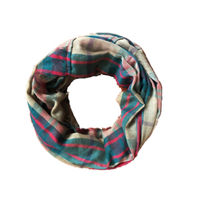 Custom Scarf ring Viscose plaid women scarves 2017 new fashion Infinity Snood for Women Winter men's scarf