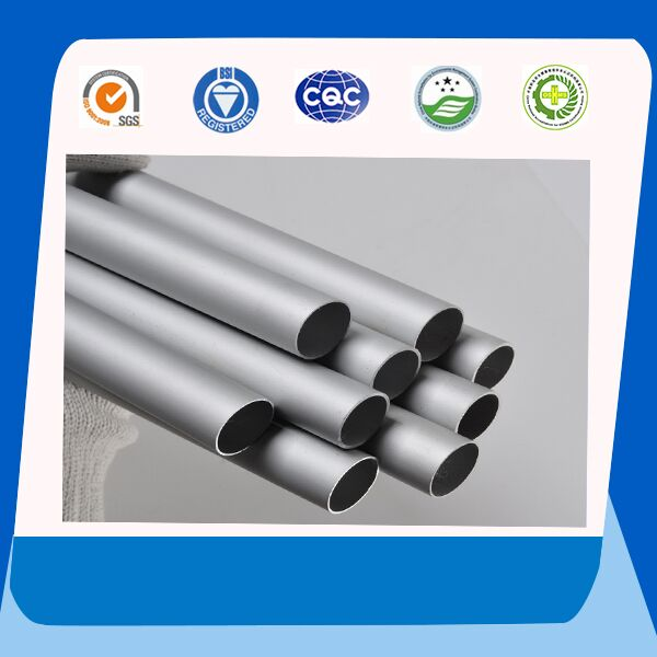 Bright Anodized Aluminum Pipe 90mm