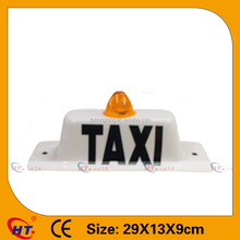 Taxi roof top advertising car led lights for sale